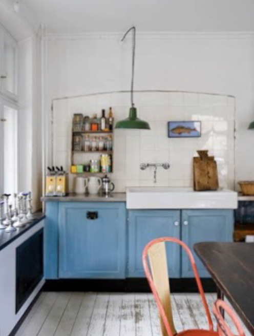 Plush palate cute quirky kitchens for Quirky modern kitchen