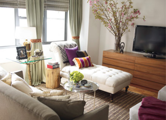 Plush Palate: Nate Berkus: How To Make A Small Place Feel Big