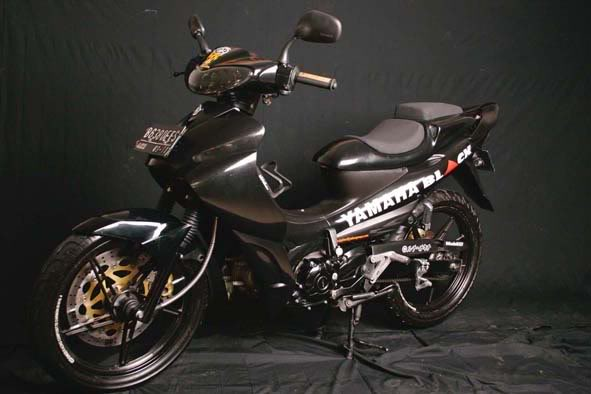 Foto Gambar Modifikasi New Jupiter Z FOTO GAMBAR MODIFIKASI NEW JUPITER Z Modification Motorcycle 591x394