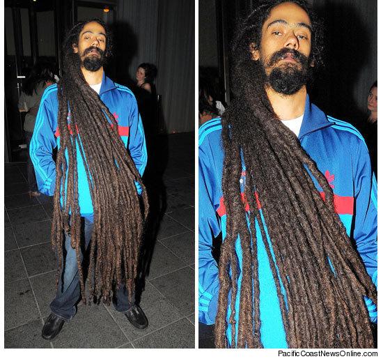 Pearl's Window: Damien Marley Looks Dred-Ful...