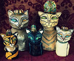 """Cat Busts"" All have been adopted"