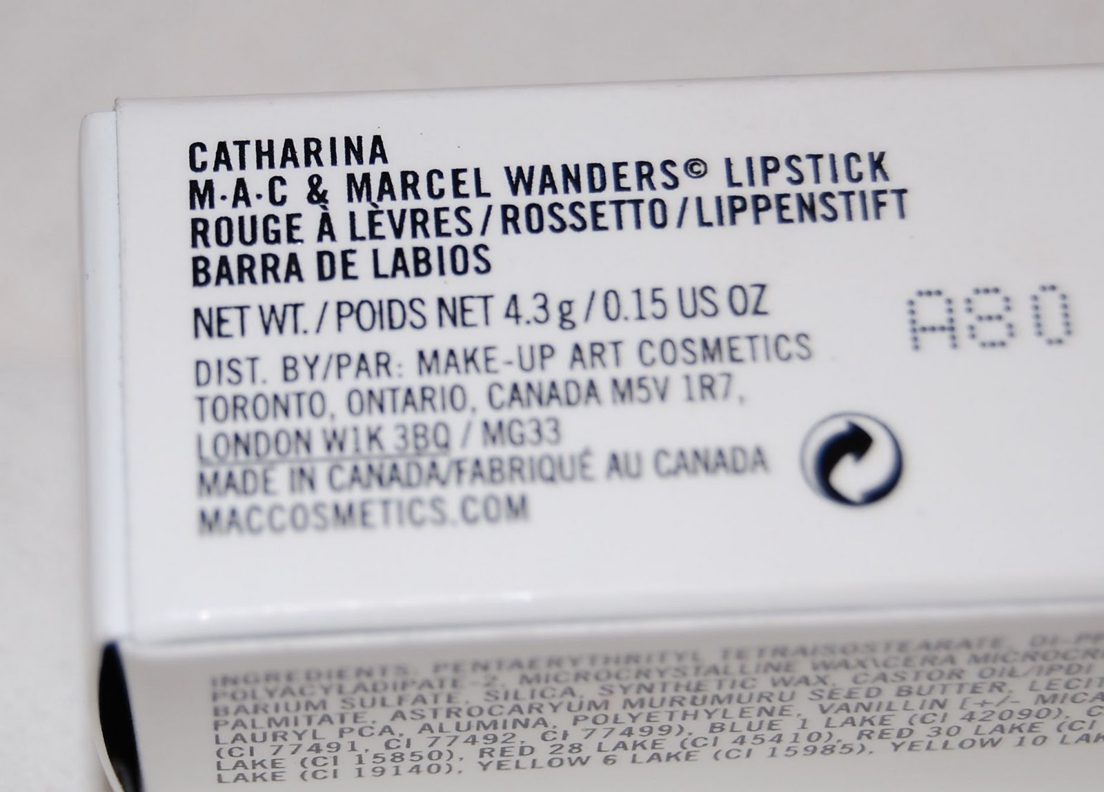 Aleydis Marcel And SquaredMacamp; WandersCatharina Beauty Lipstick rxBQCoWde