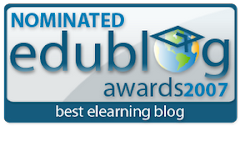 Finalist in 2007 Edublog Awards