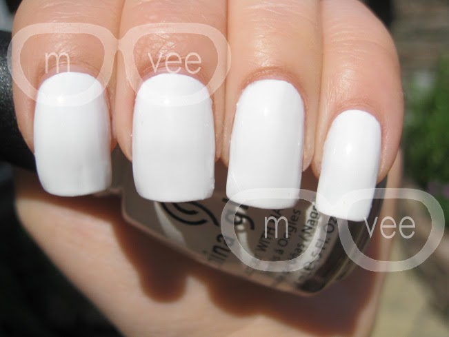 Milan Amp Vanaily China Glaze White On White