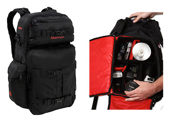 He Set Me Up With This Tech Camera Backpack From Burton And I Love It S Called The Zoom 28l Has A Sleeve That Fits Our Laptop