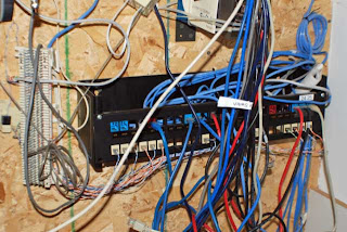 got wire closet blues i do how to rewire your home s video rh techtipsradio wordpress com Structured Wiring Closet Residential Wiring Closet