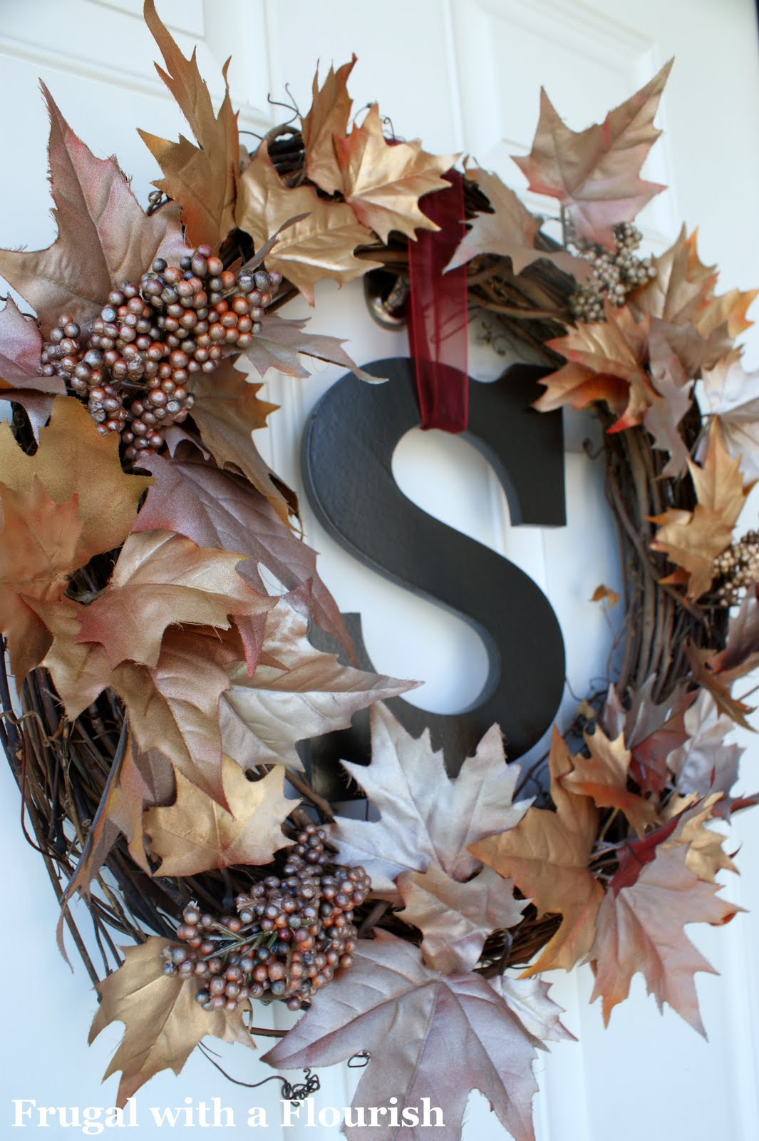 Fall Wreaths For Front Door How To Make