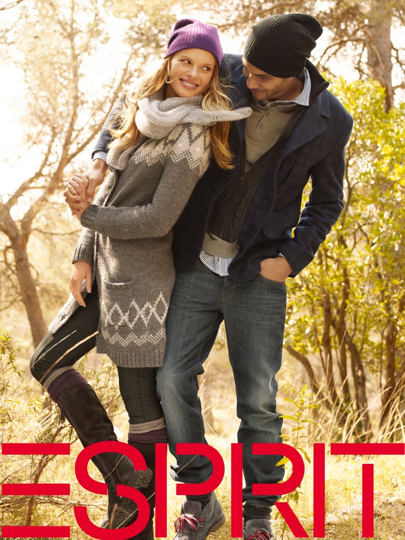 November Fall Wallpaper Fasion Model Blog S Esprit Fall 2010 Campaign Anne