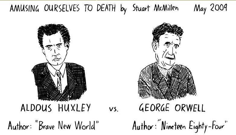 Sci-Fi: Utopia, Dystopia: Huxley vs. Orwell