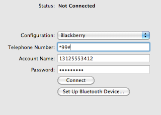 Tethering Your Mac to a Blackberry (Bold 9700) on T-Mobile (2