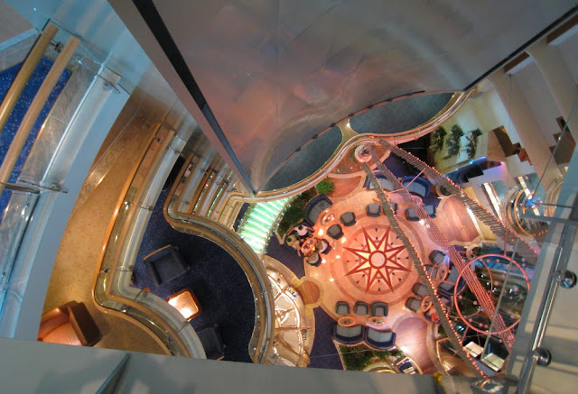 Centrum der Jewel of the Seas