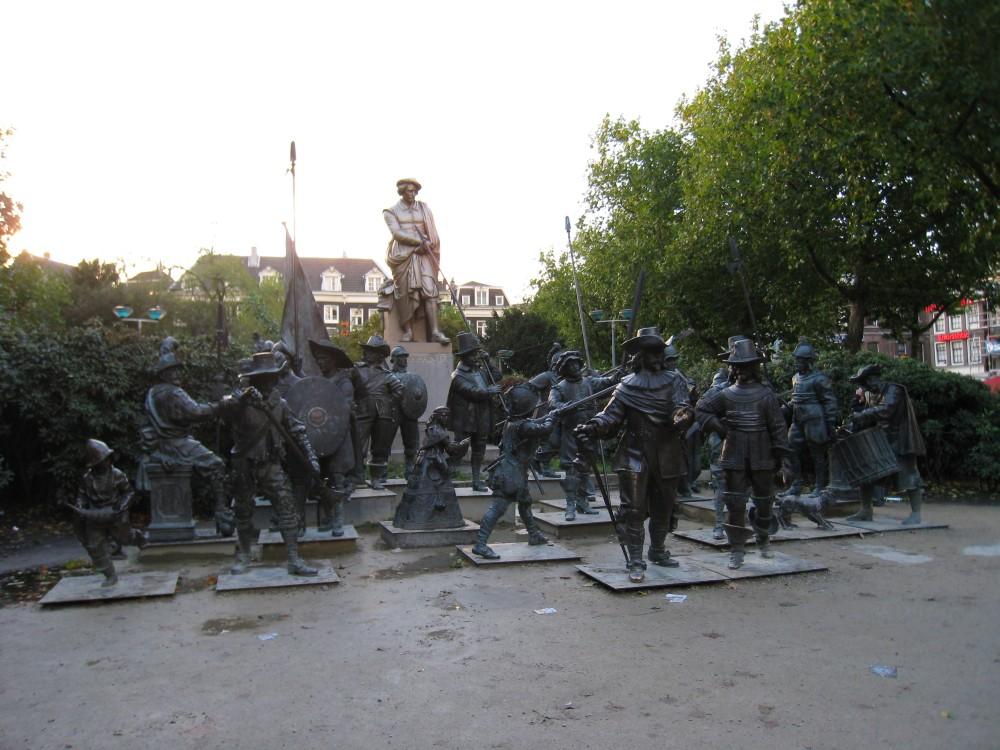 Amsterdam - Nachtwache 3D auf dem Rembrandtplein