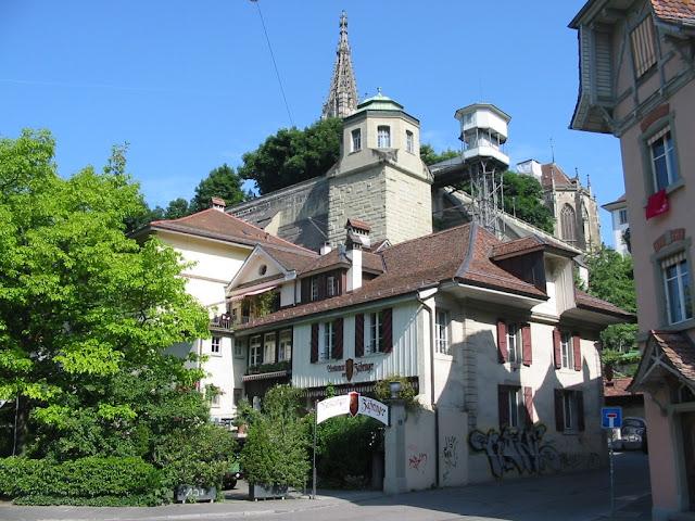 Bern - Aufzug Mattenlift
