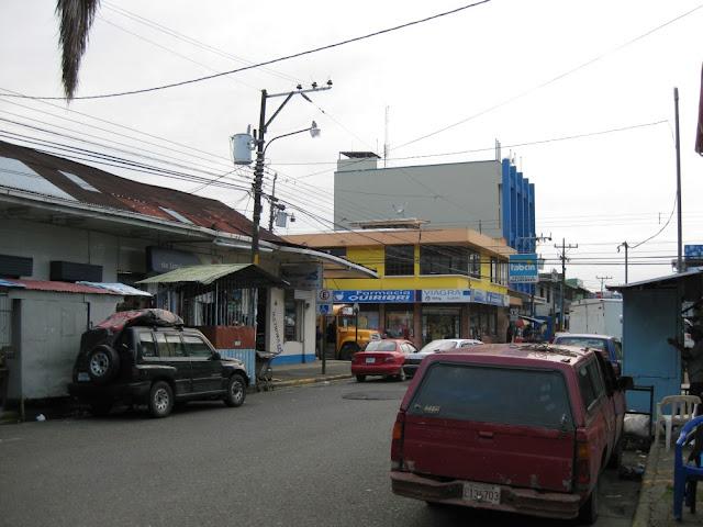 Straßenszene Puerto Limón, Costa Rica