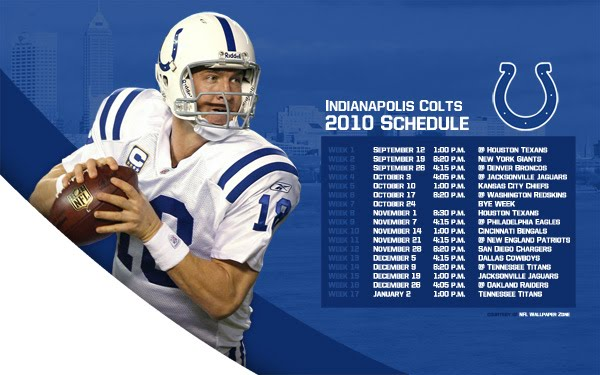 photo relating to Colts Schedule Printable identified as NFL Wallpaper Zone: Indy Colts 2010 Plan Wallpaper