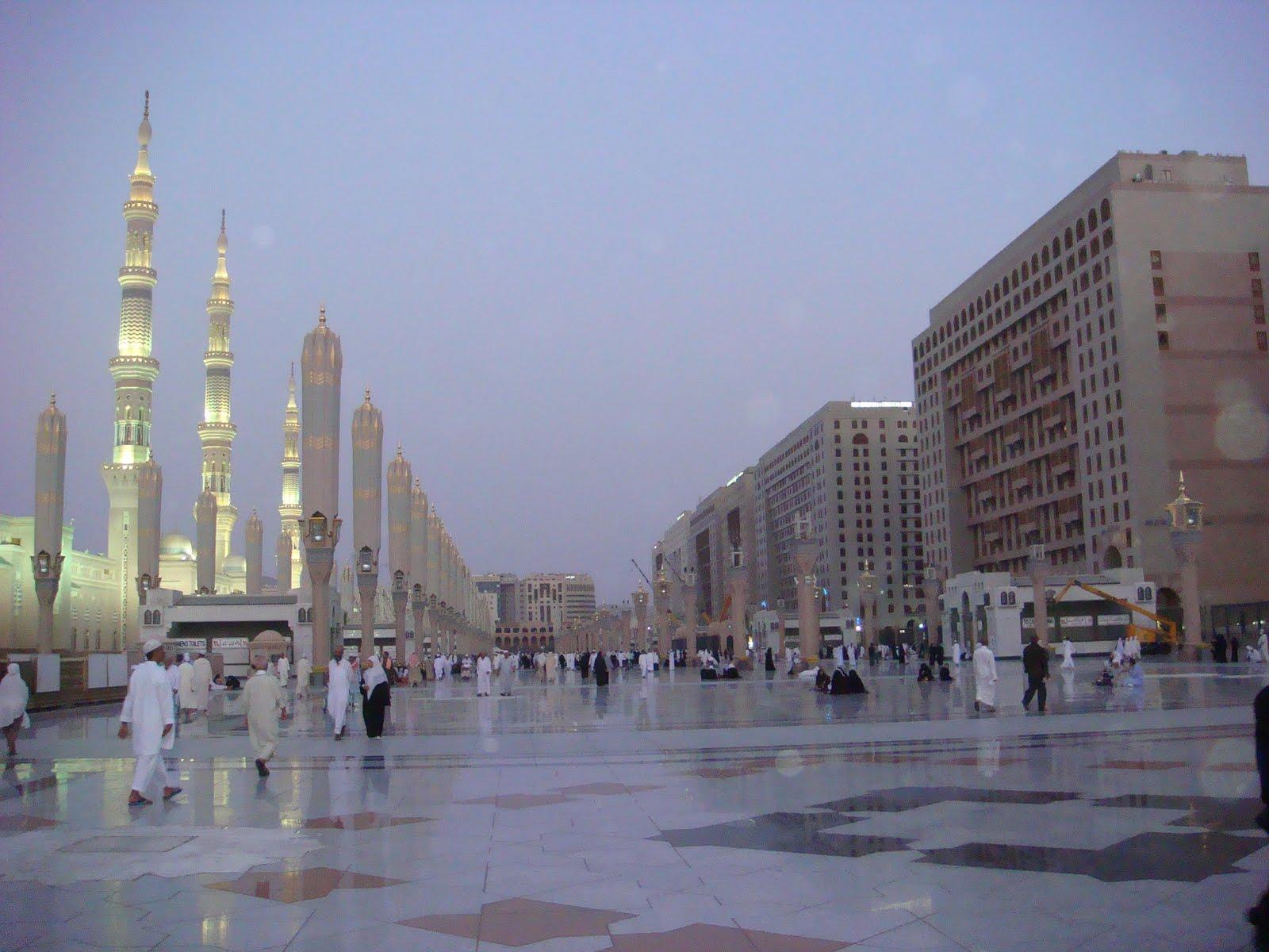 Wan S Footprints The World Mecca And Medina Saudi Arabia