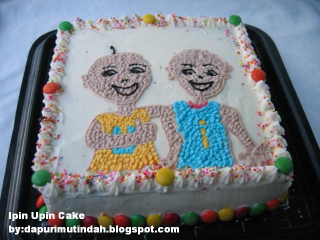 Dapur Imutku Birthday Cake Ipin Upin