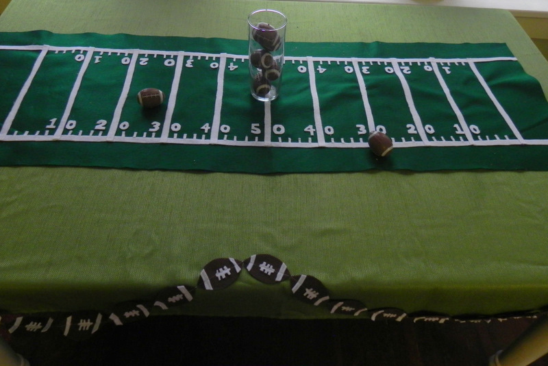 Cheap Amp Easy Super Bowl Party Decorations Momma D And Da