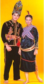 Jenis Pakaian Tradisional Sabah