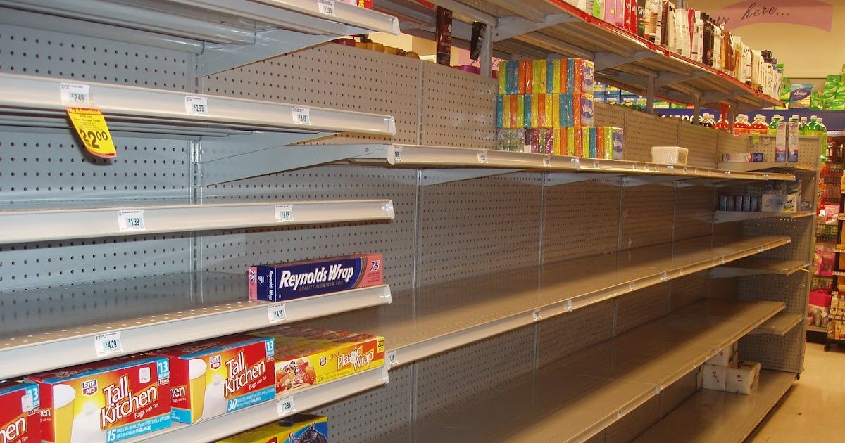 pardon me for asking empty shelves at rite aid on smith