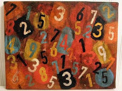 Painting of Numbers