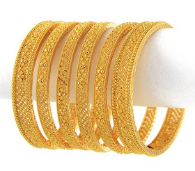 Indian Jewellery Design Indian Traditional Bridal Gold Bangles Set