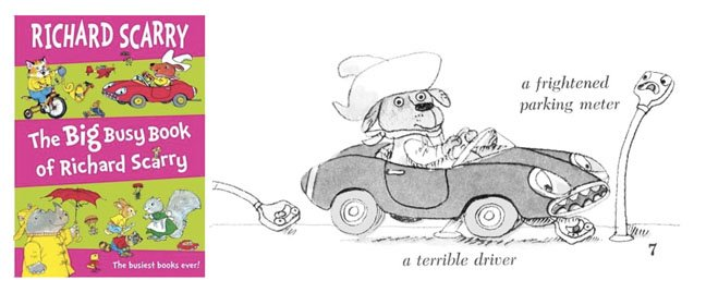 Richard Scarry Coloring Pages - Coloring Home | 280x648