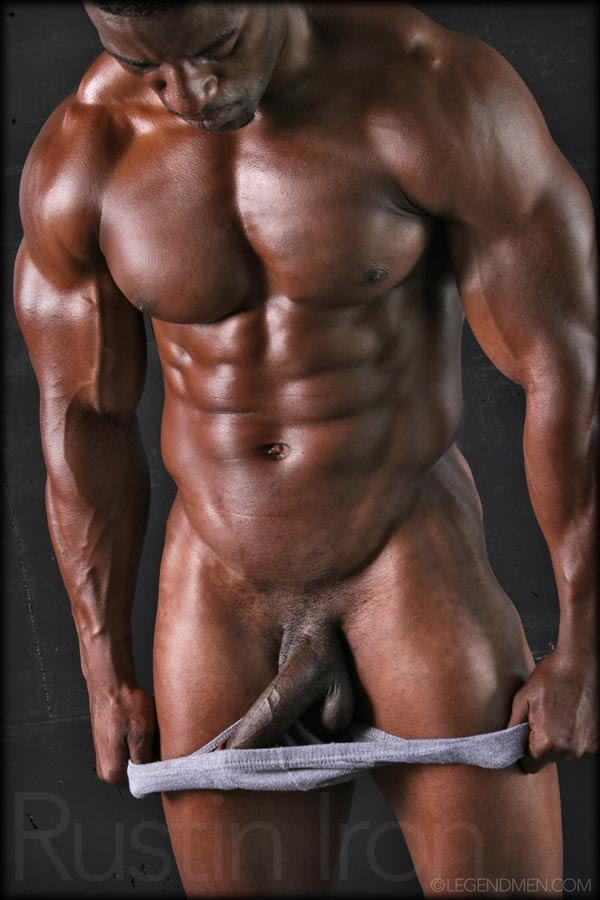 Massive huge black muscle cock gay hot 1