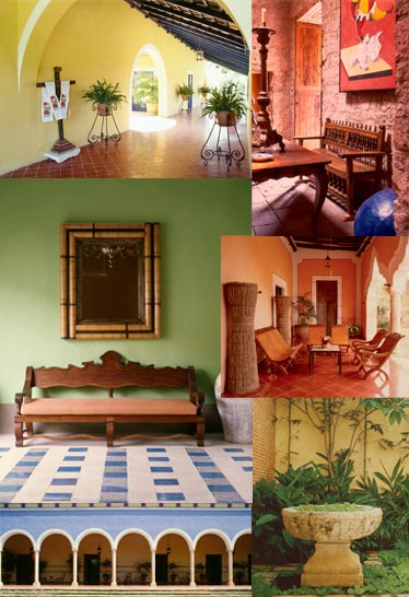 Mexican Hacienda Interior Paint Colors | Joy Studio Design ...