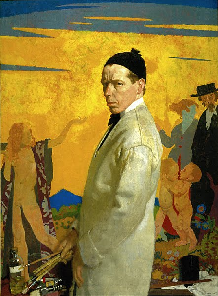 William Orpen, Self Portrait, Portraits of Painters, Fine arts