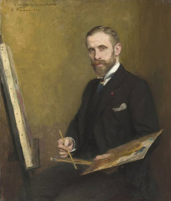 Emile Friant, Portrait of Painters, Self Portrait