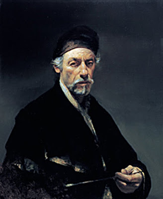 David A. Leffel, Self Portrait, Painters of Painters