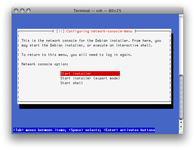 harryd: Installing Debian on QNAP TS-209