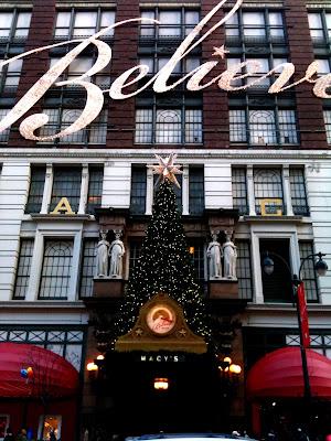 Macy's at Christmas NYC