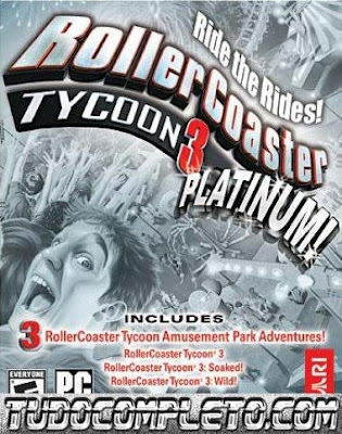 RollerCoaster Tycoon 3 Platinum (PC) ISO