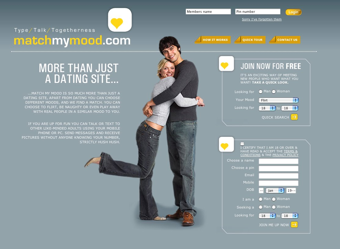 Dating site match contact