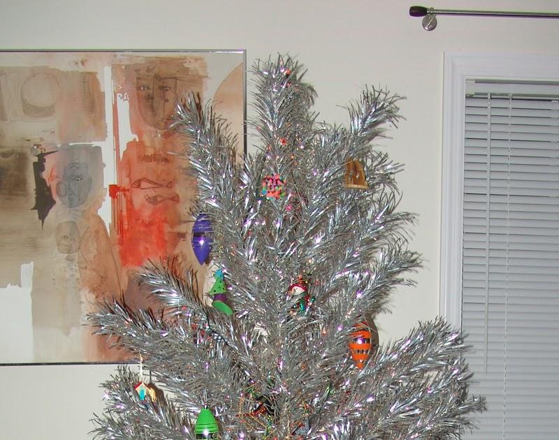 Cool Stuff Art Gallery: 50s Christmas Tree Happy New Year