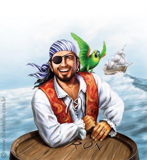 Blog Do 6B: Túnel Do Tempo: O Pirata Montilla