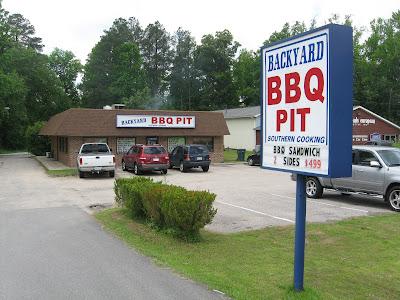 Barbecue Master: Backyard BBQ Pit - Durham, NC - Wood ...