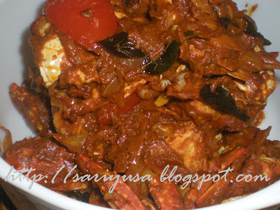 DRY CRAB CURRY