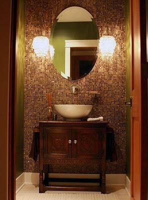 Herchekshmerchek powder bathroom - Powder room tile ideas ...