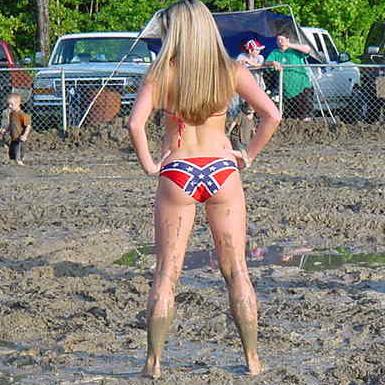 Girl Muddy nude country