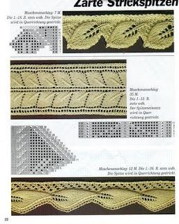 вязание спицами узор листочки это.  Узор листики спицами. узоры спицами.