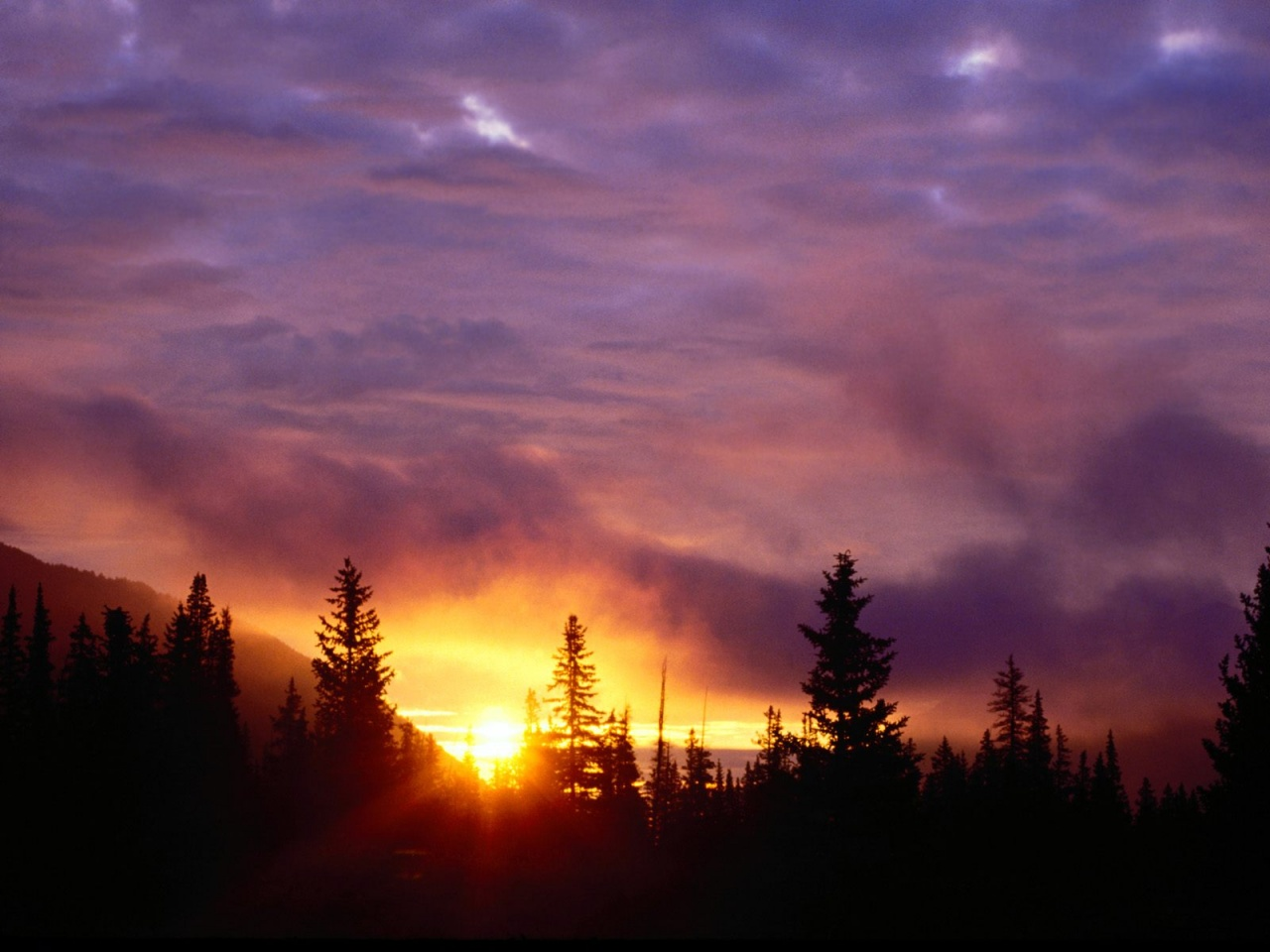 Sunrise san isabel national forest colo Nature wallpaper ...