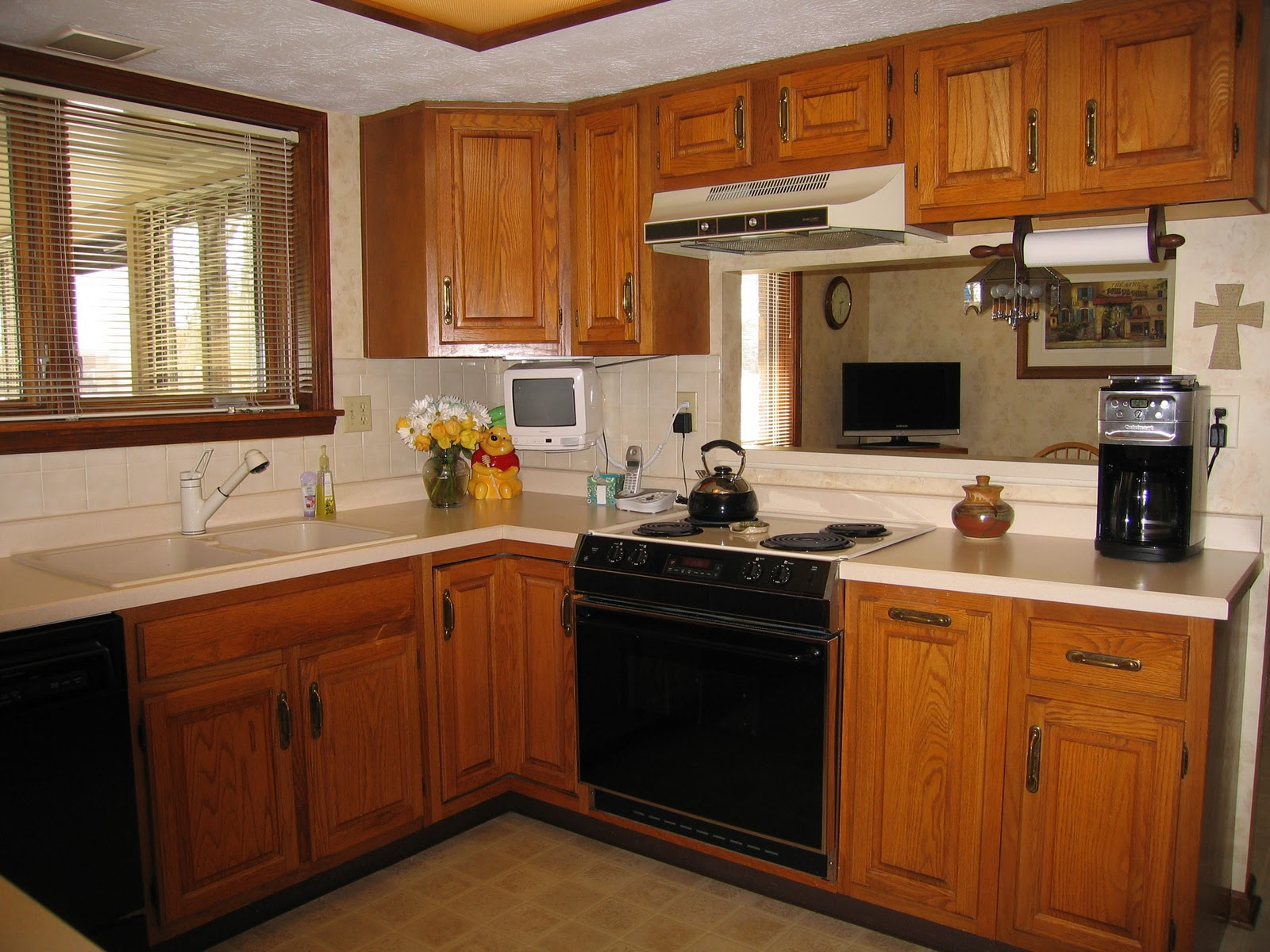 Kitchen Designs With Oak Cabinets And White Appliances Meet The Parents And Their Amazing Kitchen Remodel