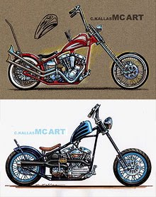 Chopper Concept Art