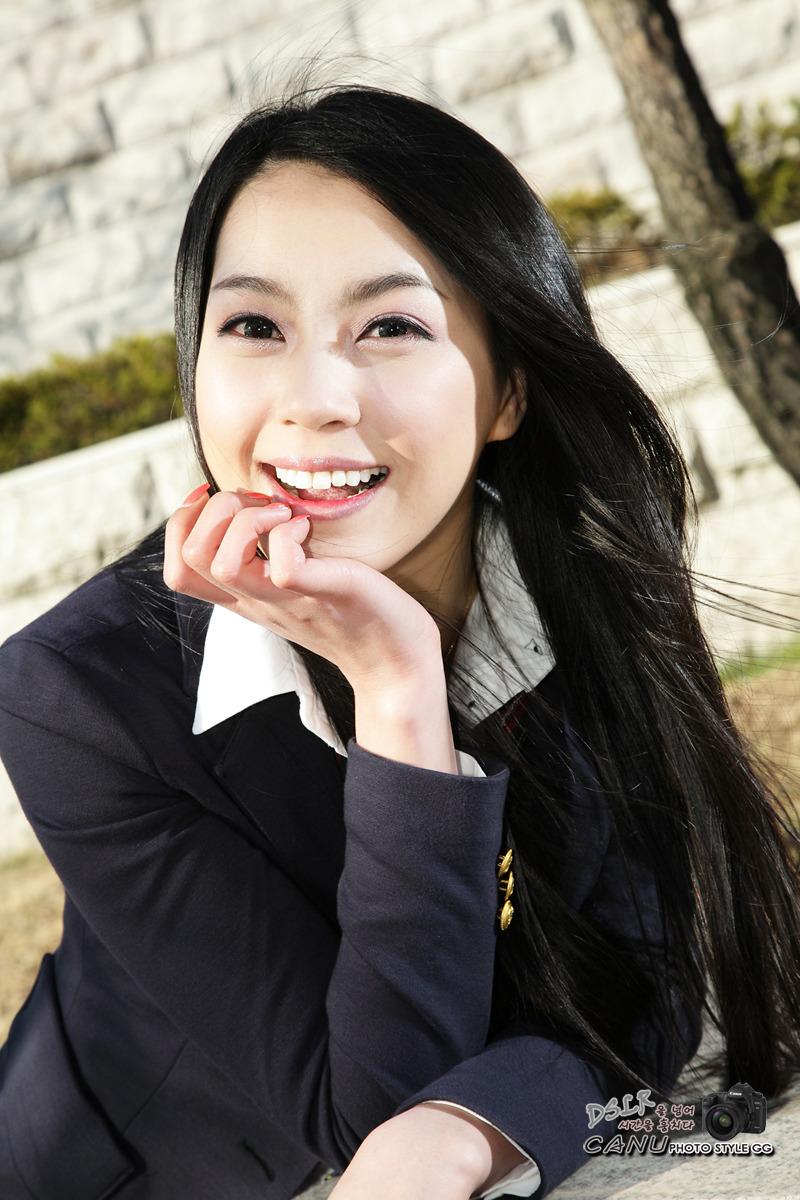 South Korean Cute Model Ju Da Ha S School Girl Fashion