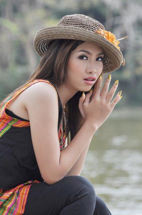 Myanmar Pretty New Face Model, Su Htoo Eaindras Lovely -3619