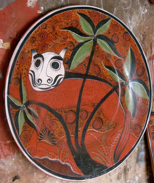 Jim & Carole's Mexico Adventure: Tonala folk art Part 3: The