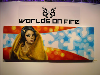 'Worlds On Fire' opening night shots...